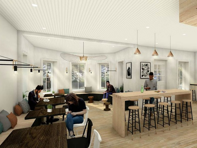 Stonehouse Coffe and Bar rendering 2016