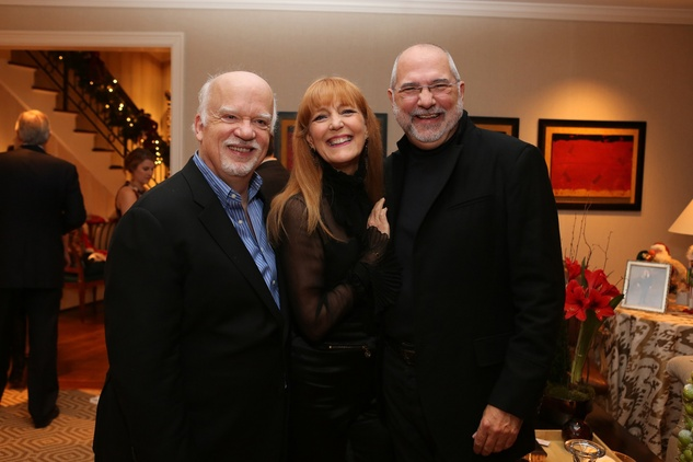 News, Shelby, Alley Theatre Holiday Party, December 2014, Gregory Boyd, Gracie Cavnar, Bob Cavnar