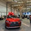 85 Lexus on view at the CultureMap Pop-Up Shop December 2014