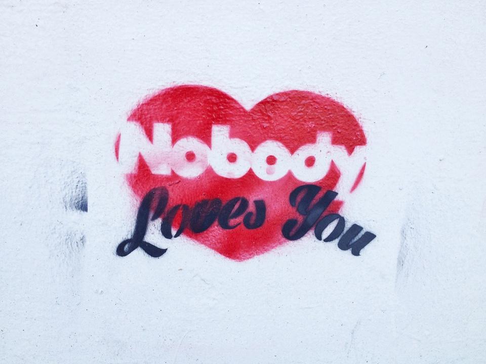 Street Art of Love and Heartbreak in Austin 6