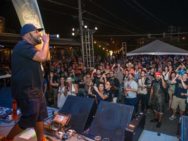 Bun B performs at Southern Smoke