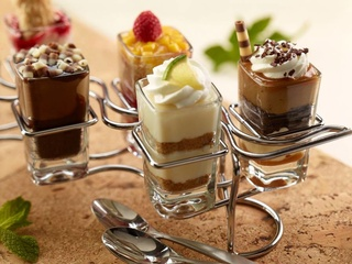 Seasons 52 mini-desserts
