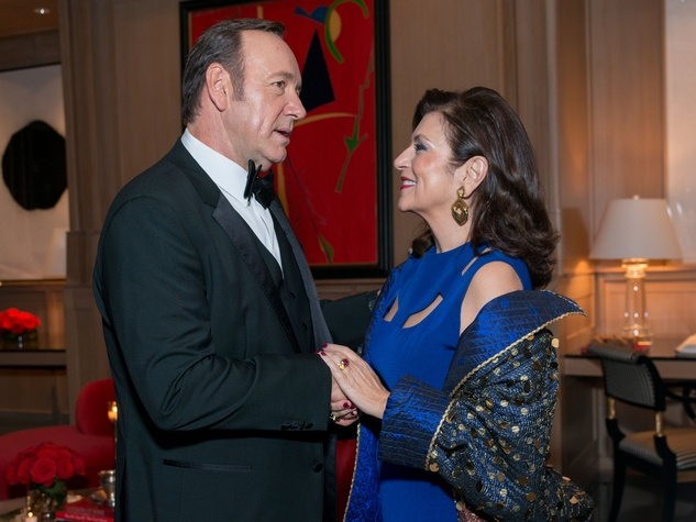 News, Shelby, Best Buddies, Kevin Spacey, Nov. 2015, Kevin Spacey, Dancie Ware