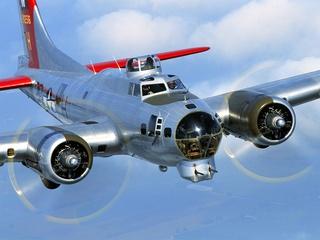 Flying Fortress B-17 Bomber