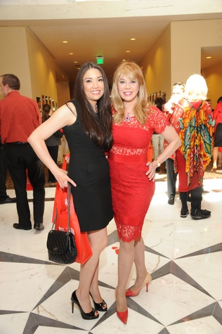 Go Red for Women luncheon Erika Soto, Cindi Rose