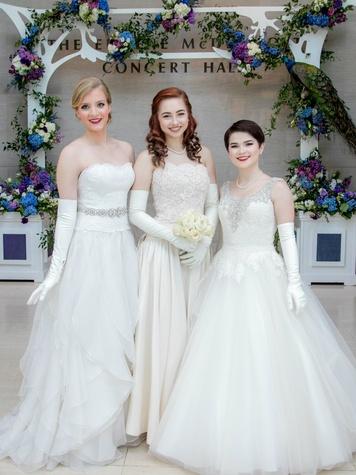 Layne Anderson, Madeline Hendrick and Bailey Turfitt