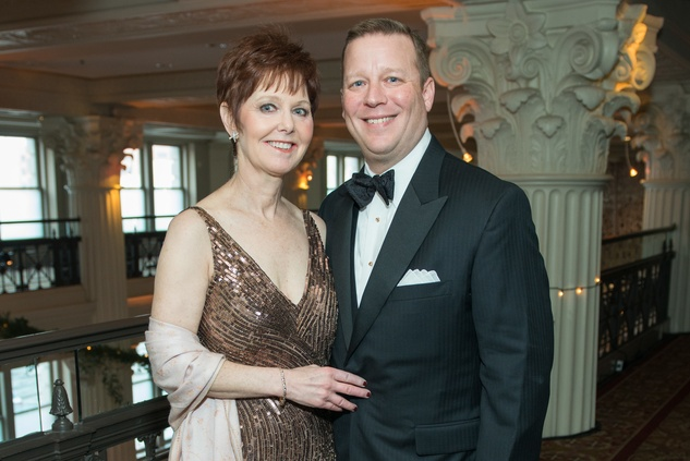 58 Heidi and David Massin at the Houston Symphony Wolfgang Puck wine dinner March 2015