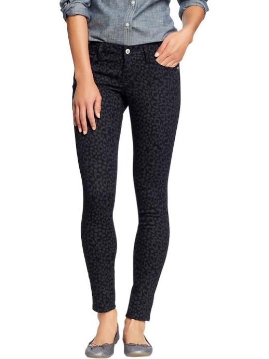 Target Women's The Rockstar Animal-Print Jeans