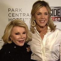 Deborah Norville and Joan Rivers