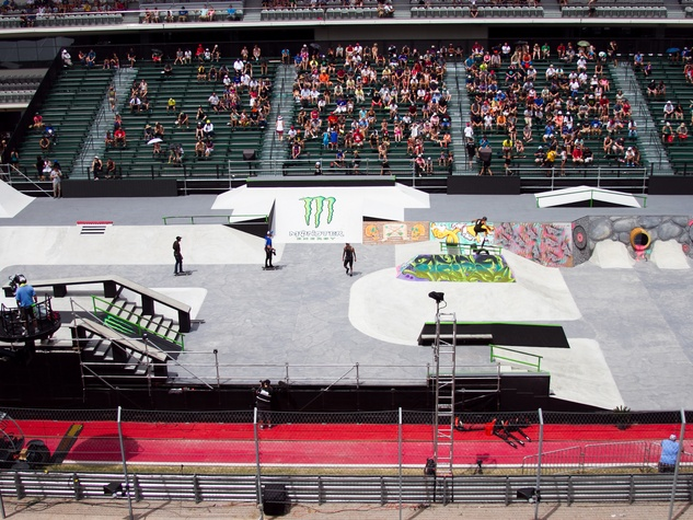 X Games Austin Sunday Men's Skateboard Street Final