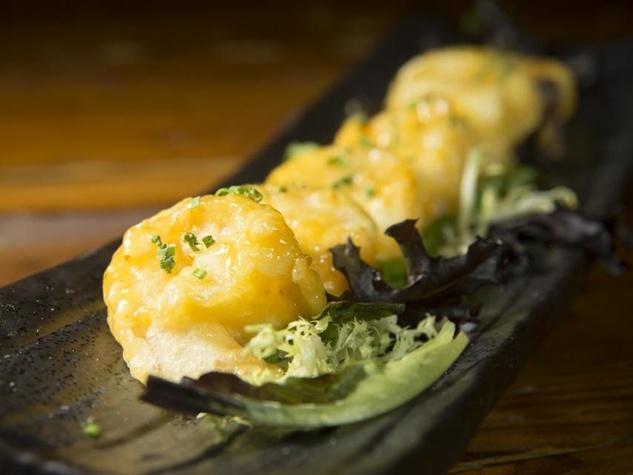 Jinya Ramen Bar NYC crispy creamy shrimp tempura