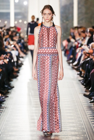 Tory Burch fall 2016 collection Look 39