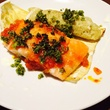 The salmon plate offered at The Hightower