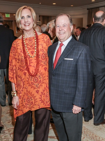Sharon and Chip Bryan at the Young Audiences of Houston Gala April 2014