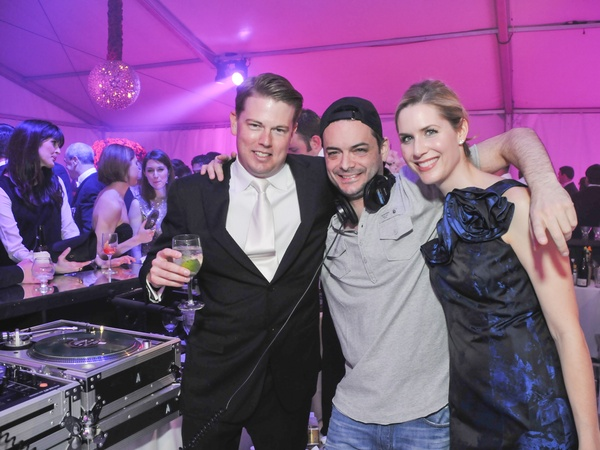 0011, Houston Symphony Ball after-party, March 2013, Brandon Cochran, DJ Zone (of New York), Audrey Cochran