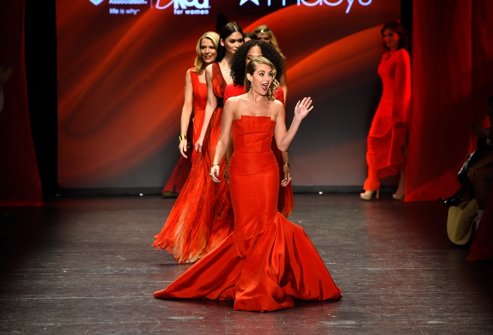 American Heart Association Go Red For Women Red Dress Collection 2016