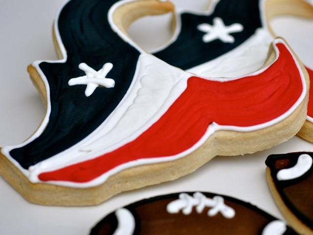 Texans cookies from Ooh La La