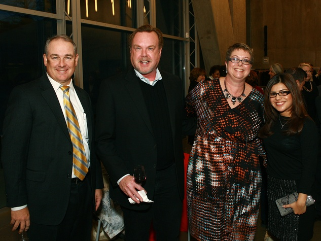 Bill Rolley, Paul Barnes, Kirsten James, Rosaura Cruz-Webb, taca award presentation