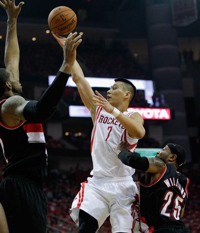 Jeremy Lin Blazers