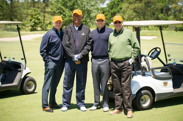 2 Alan Ashby, from left, Enos Cabell, Jim Crane and Chuck Jenness at the Children's Museum Spring Golf Classic April 2014