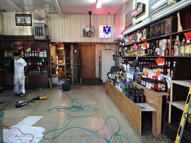 J&J Spirits interior renovation