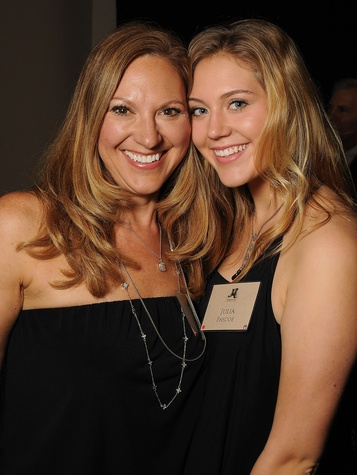 Lou Pascoe, left, and Julia Pascoe at the Johnny Mac Soldiers Fund Inaugural Houston Gala April 2015