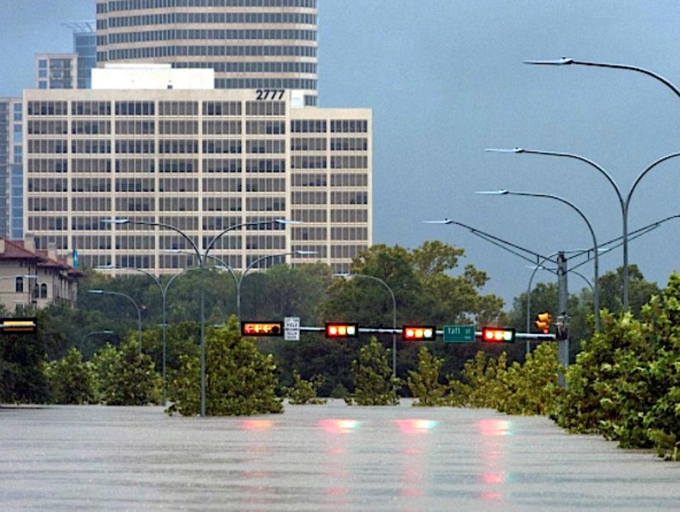 Houston, Hurricane Harvey, flood photos, Taft