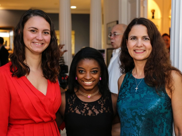 News, Shelby, Simone Biles reception, Nov. 2015, Raquel Riddle, Simone Biles, Andrea Riddle