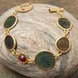 Coin bracelet at the Golden Eye in Santa Fe