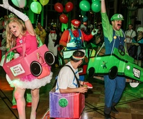 33 Super Mario Cart at The Patroleum Club Halloween party November 2014