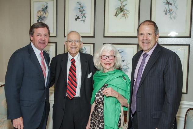 News, Shelby, Men of Distinction, May 201, Paul Murphy, Jim Dannenbaum, Shirley Dannenbaum, Ric Campo