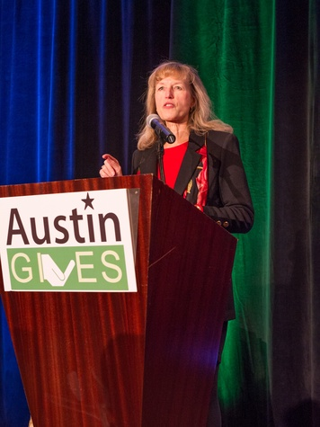 Austin Gives 2014 Luncheon ExecutiveDirector_DebbieJohnson