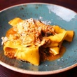 Rabbit pappardelle at Gemma in Dallas