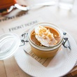 Salted caramel pot de crème at Front Room Tavern in Dallas