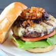 Bison burger at Dee Lincoln Steak & Burger Bar in Dallas