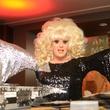 Lady Bunny at Hotel ZaZa's Halloween Bash November 2014