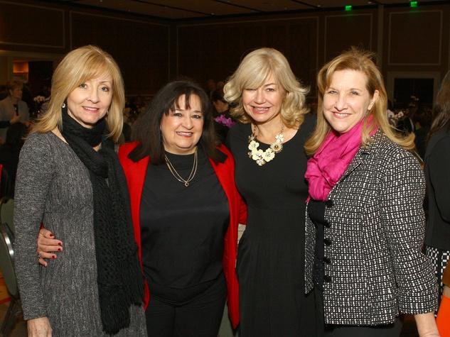 Lori Gibbens, Renee Sexton, Ashlee Kleinert, Sherri Daniel, Girl Scouts Luncheon