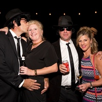 Dave Handley, Heather Handley, Denise Ruckstuhl, Eric Ruckstuhl at Bayou Preservation Gala