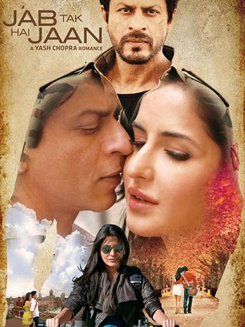 Jab Tak Hai Jaan, November 2012, movie poster