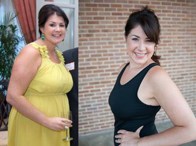Monica Danna before and after July 2013 RUN FLAT