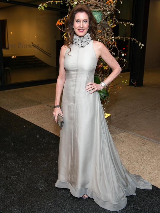 10 Phoebe Tudor wearing Brunello Cucinelli at the MFAH Grand Gala October 2014 GOWNS