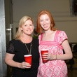 9. Sara Schleicher, left, and Charlotte Cameron at the Bayou Preservation Association Herons party June 2014