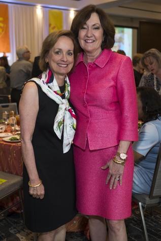 Houston, DePelchin Children's Center Families for Kids Luncheon, May 2016, Pam Brasseux, Liz Rigney