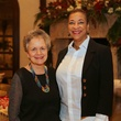 Gloria Portela and De Rose at St. Luke's holiday party December 2014