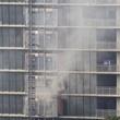 News, Shelby, The River Oaks on fire, July 2015