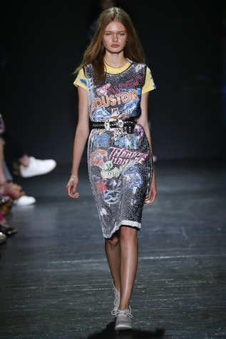 Vivienne Tam look 22 Houston collection