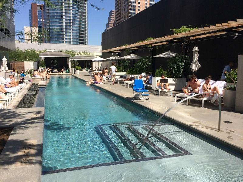 The W Austin Hotel pool Wet Deck