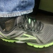 Marene, chef shoes, David Grossman, Branch Water Tavern, Brooks Pure Cadence, tennis shoes, October 2012