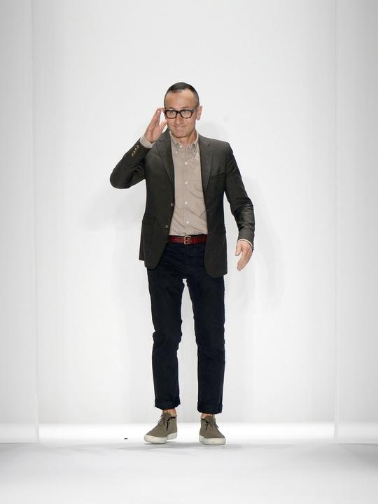 Fashion Week spring summer 2014 designer J. Mendel