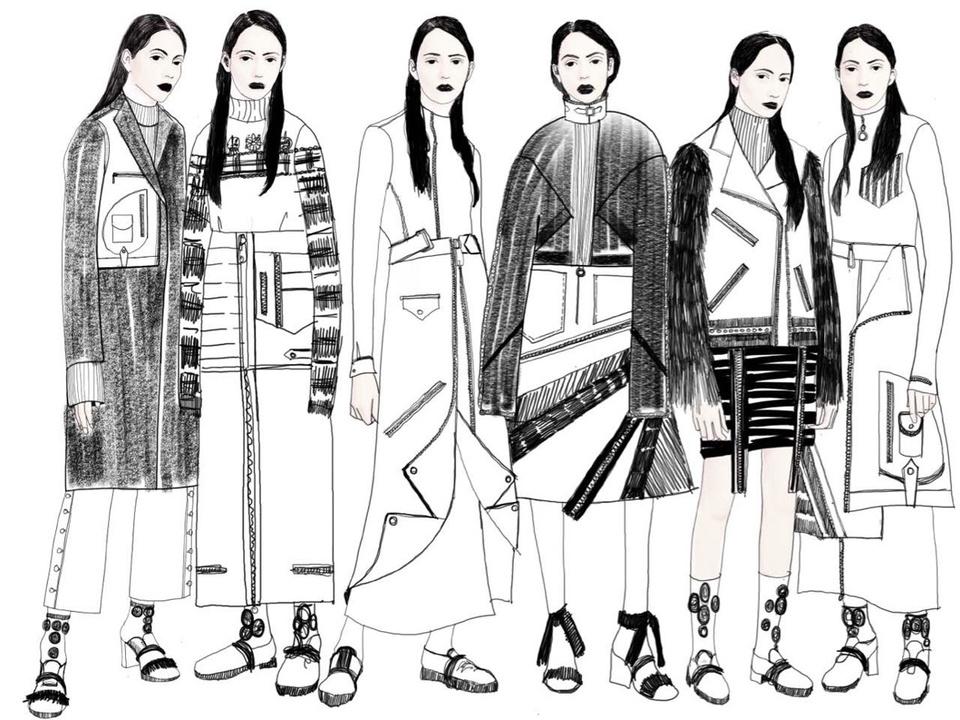 Concept Korea sketch fall 2016 Yohanix